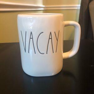 "* NEW* Rae Dunn ""VACAY"" Coffee Mug"